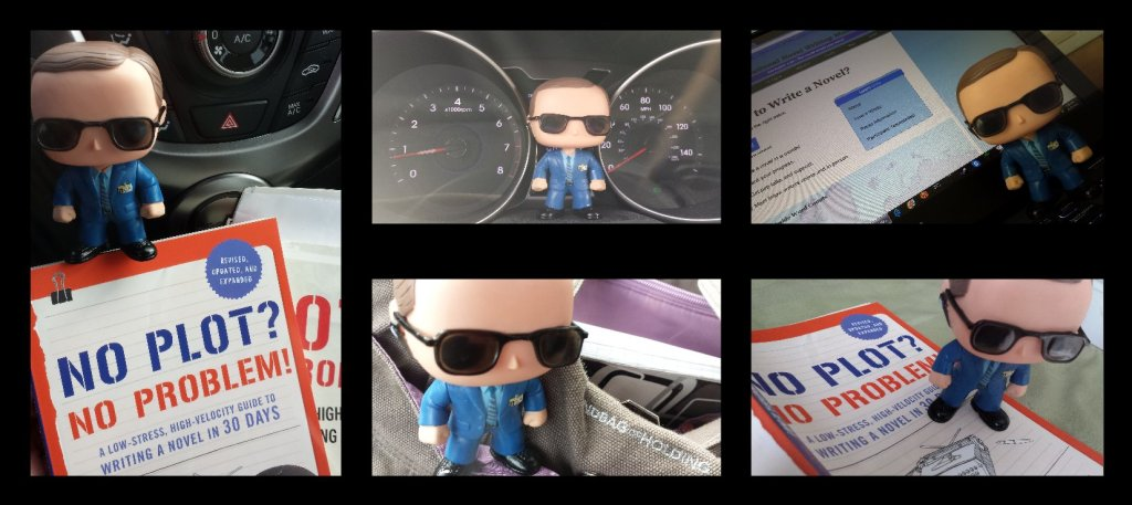 Phil Coulson Out and About