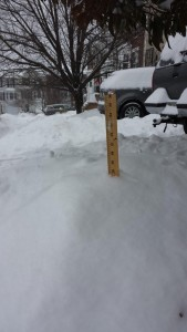 That's a lot of snow!