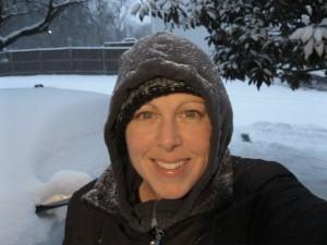 Princess Girlnovember in the snow 22 Jan 2016 1730