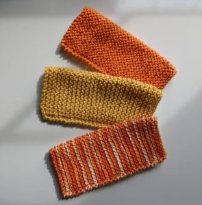 Colorful Washcloths Set