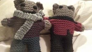 Knitted Bears!