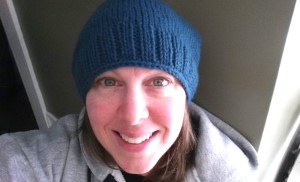 The January Hat - Knit While Listening to Turn Coat, Book 11 of The Dresden Files.