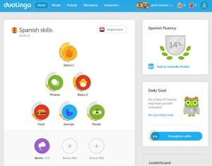 14% Spanish Fluency - DuoLingo 2 Feb 2016