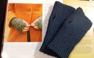 Quick Knit Fingerless Gloves