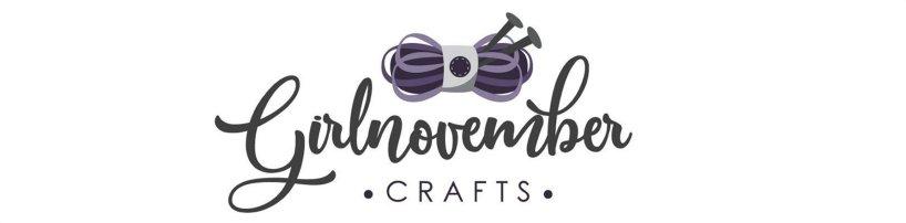 GirlnovemberCrafts Logo - Shop GirlnovemberCrafts on Etsy! girlnovembercrafts.etsy.com